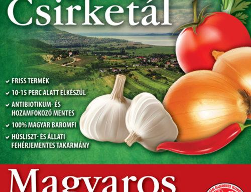 Magyaros Serpenyős® Csirketál